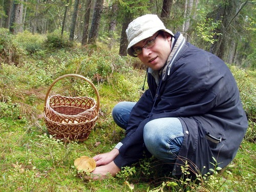 рыбалка собирать грибы