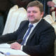 MOSCOW, RUSSIA. NOVEMBER 28, 2014. Kirov Region governor Nikita Belykh attends the 24th meeting of the Regional leaders' Council under Russia's Foreign Ministry. Zurab Dzhavakhadze/TASSРоссия. Москва. 28 ноября. Губернатор Кировской области Никита Белых на XXIV заседании Совета глав субъектов РФ при министерстве иностранных дел РФ. Зураб Джавахадзе/ТАСС